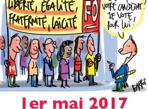 1er MAI 2017 : Revendications et indépendance