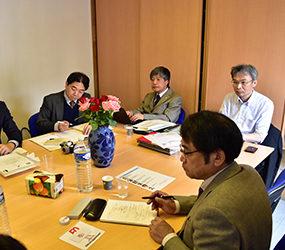 FOCom recoit une délégation syndicale japonaise
