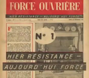 Congrès Force Ouvrière: 70 ans d'histoire