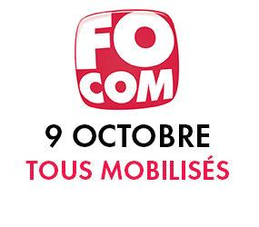 9 octobre, tous mobilisés !