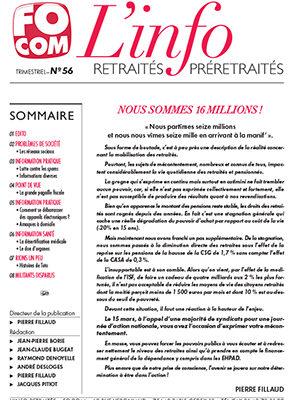 L'info n°56 – Mars 2018