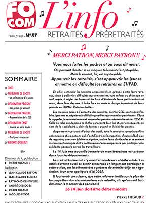 L'info n°57 – Juin 2018