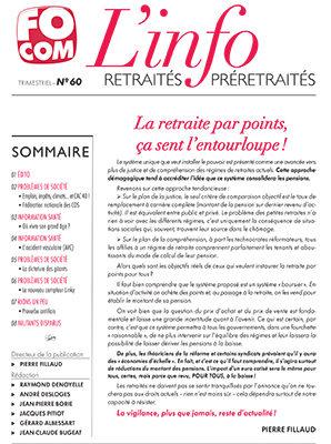 L'info n°60 – Mars 2019
