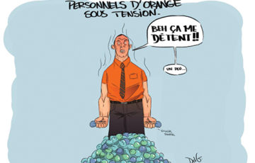Orange sous tension !