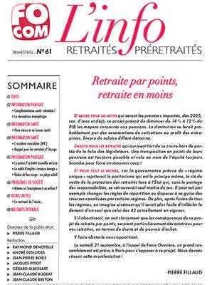 L'info n°61 – Juillet 2019