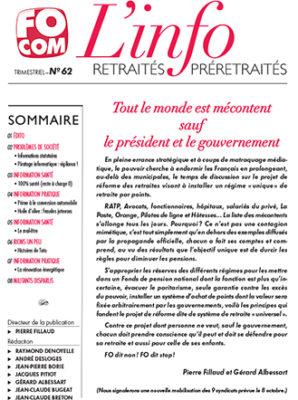L'info n°62 – Septembre 2019