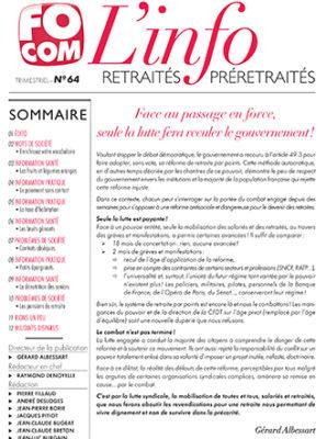 L'info n°64 – Mars 2020