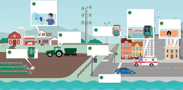 Exemples d'applications de la technologie 5G