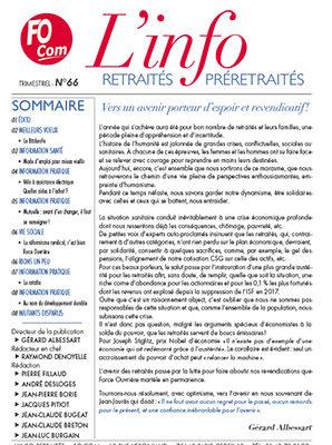 L'info n°66 – Décembre 2020