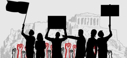 Temps de travail et négociation collective : manifestations contre la future loi travail en Grèce